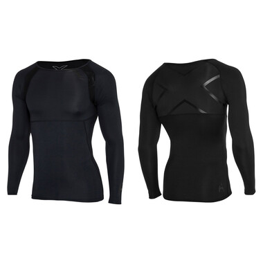 T-Shirt 2XU REFRESH RECOVERY COMPRESSION Manches Longues Noir 2021